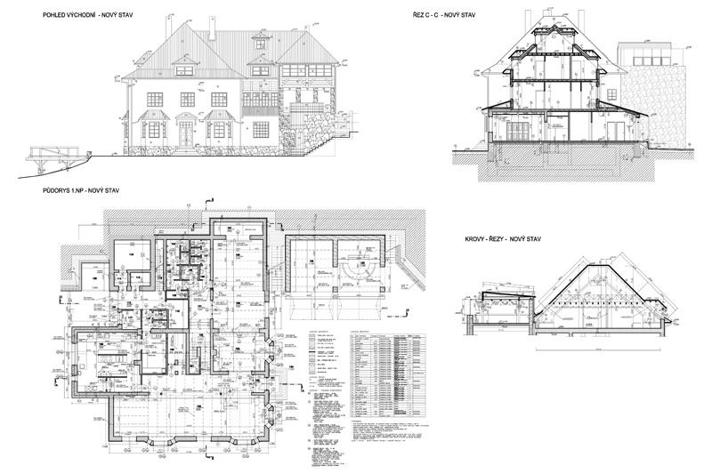 Lesni Pension Bunc Rekonstrukce Architektonicky Atelier Kromeriz